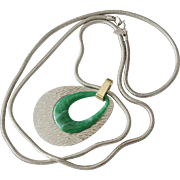 "Sarah Coventry  1976 ""Ultra Versatile "" Necklace"