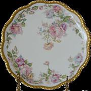 Haviland France Limoges Rose Garland Plate