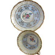 Regency England Tea Cup and Saucer Set
