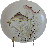 Fish Series No. 3 Oval Dinner Plate Johnson Bros. England