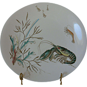 Fish Series No. 1 Oval Dinner Plate Johnson Bros. England