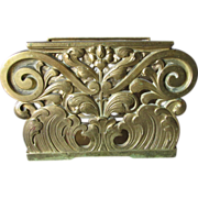 Elegant c1920s Art Nouveau, Art Deco Desk Top Letter Holder