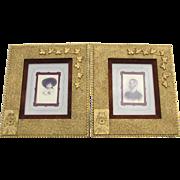 Fine PR c1880s Victorian Gilt Gold Aesthetic Picture, Mirror Frames