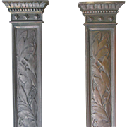 Lovely Pair of Victorian Aesthetic Bronze Architectural Elements
