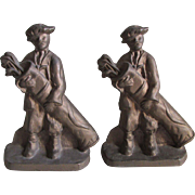 PAir Golf Caddy Doorstops, Bookends, Production Foundry Co.