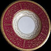 Pair Antique Tiffany & Company, Mintons Bowls