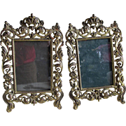 Pretty  Pair Antique Victorian Picture Frames