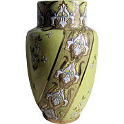 Antique French Art Nouveau Vase, Luneville