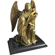 Fine  Antique French Bronze Angel Sculpture