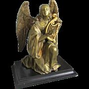 Fine  Antique French Bronze Angel Sculpture