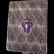 Antique Grand Tour Filigree Calling Card Case
