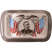 Military Admiral Dewey Spanish American War Paperweight