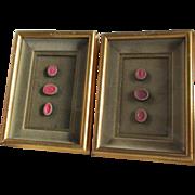 Grand Tour Intaglios Medallions, Cameos, Wax Seals