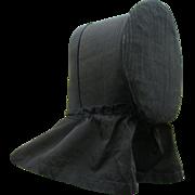 Late 1800s, Early 1900 Shaker Ladies Bonnet