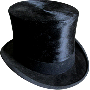 Gentlemans Top Hat Size 7 3/8