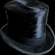 Gentlemans Top Hat Size 7 3/8