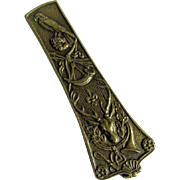 French Bronze Paperclip by Max le Verrier (1891-1973)