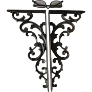 19thC Cast Iron Shelf Brackets, Architectural Garden Elements