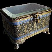 c1880s Victorian Perfume Casket, Display Box