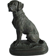 c1890s Sculpture of a Labrador Retriever Dog