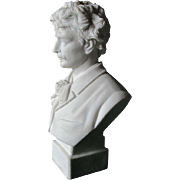 Parian Porcelain Bust of Ignacy Jan Paderewski, Robinson & Leadbeater