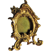Lovely Miniature Antique French Rococo Gilt Picture Frame