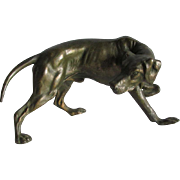 c1930s Sculpture, Figurine of a Hunting Dog, Pointer, Retriever