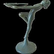 c1920s Art Deco Nude Dancer Tray, Frankart, Nuart