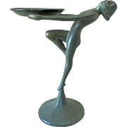 c1920s Art Deco Nude Dancer Tray, Frankart, Nuart