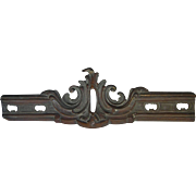 Antique 19thC Victorian Bronze Architectural Element, Garden Decor