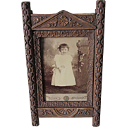 Antique c1880s Aesthetic Movement Picture Frame