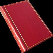 Edgar Allan Poe Book, Sangorski Sutcliffe, Leather Bound During 1940 Blitzkreig