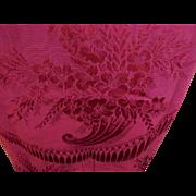 Beautiful Set of 4 Curtains, Drapes with Cornucopia & Tassel Motif