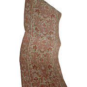 Beautiful Pair of Antique Art Nouveau Portiere, Curtain, Drapes
