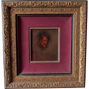 Oil Painting of a Young Boy, Original Portrait Painting