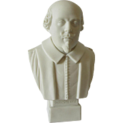 Parian Porcelain Bust English Writer William Shakespeare Robinson & Leadbeater
