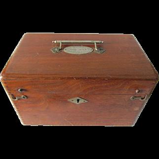 c1900 Humphrey's Homeopathic Remedy Box, Medical, Veterinarian