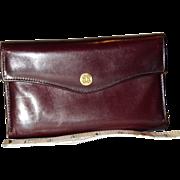 Vintage Bosca Tri-Fold Leather Wallet