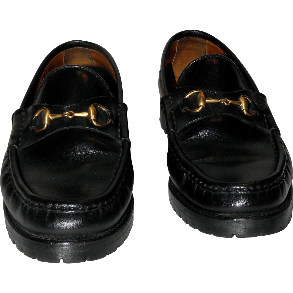 vintage gucci horsebit loafers from italy size 8 5 aa from nenghetty on ruby lane. Black Bedroom Furniture Sets. Home Design Ideas