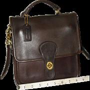 Vintage Coach Station Bag U.S. Model REDUCED