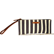 Vintage Kate Spade New York Striped Wristlet