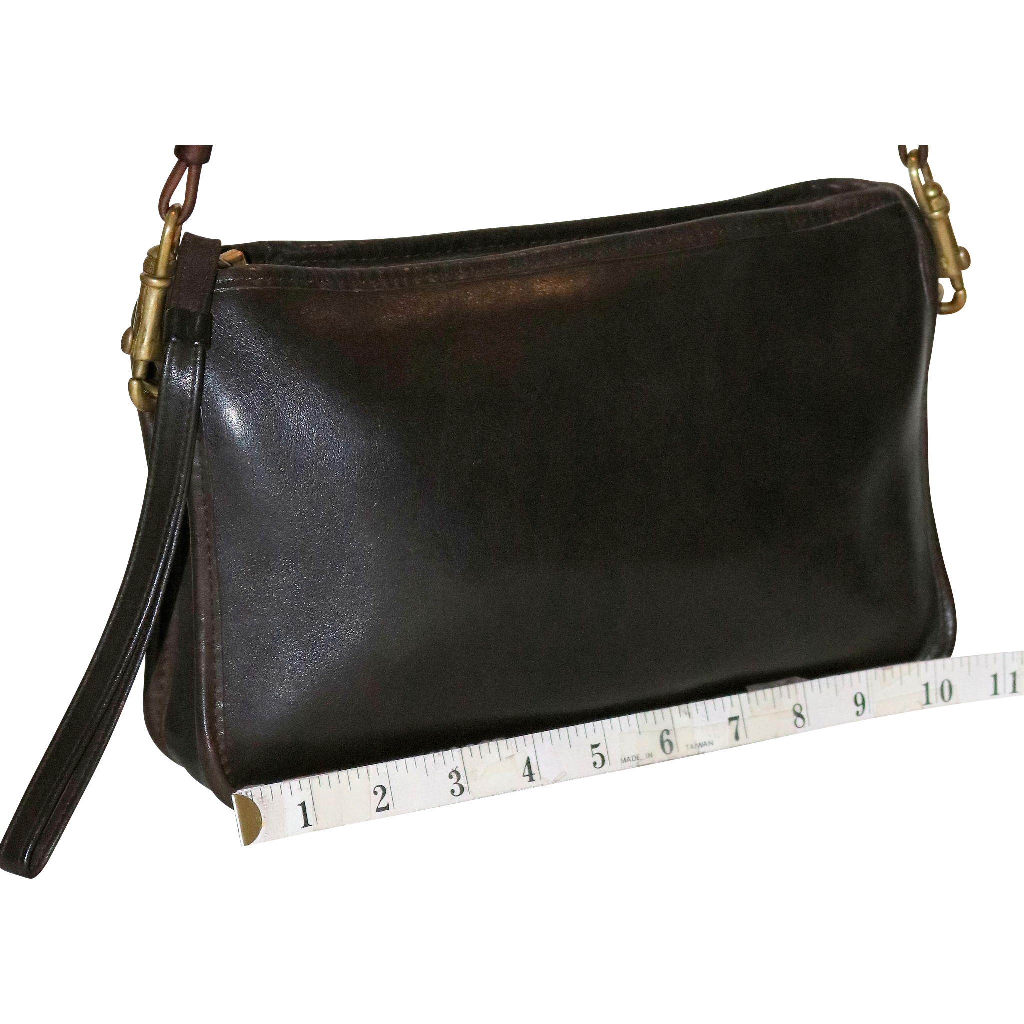 1970's Coach Convertible Clutch NYC Model  15% OFF