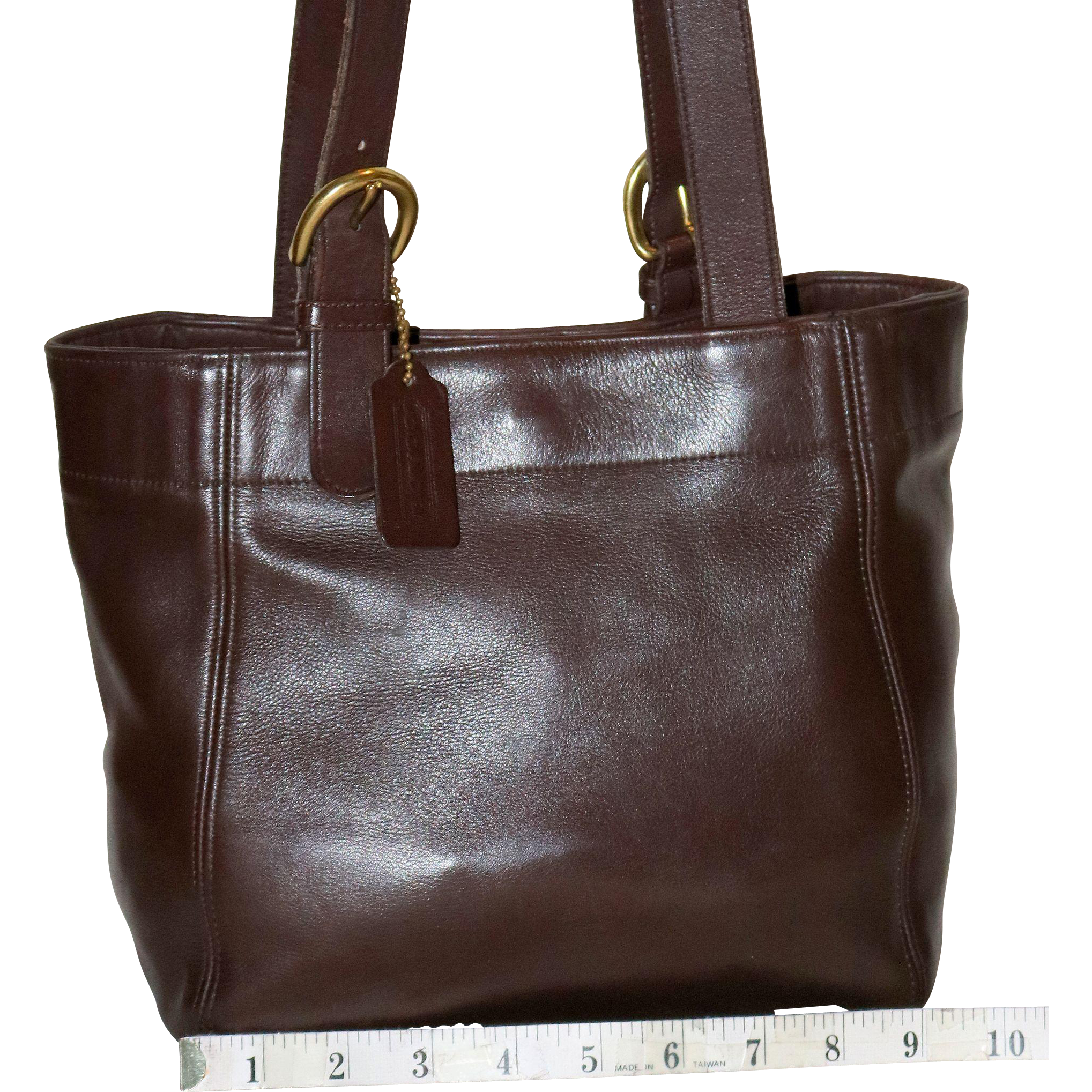 df4e53498cc5f ... discount code for vintage coach buckle bag tote u.s. model nenghetty  ruby lane 40cfa b641f