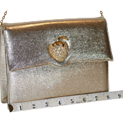 1950s Miss Lewis Convertible Clutch Evening Bag