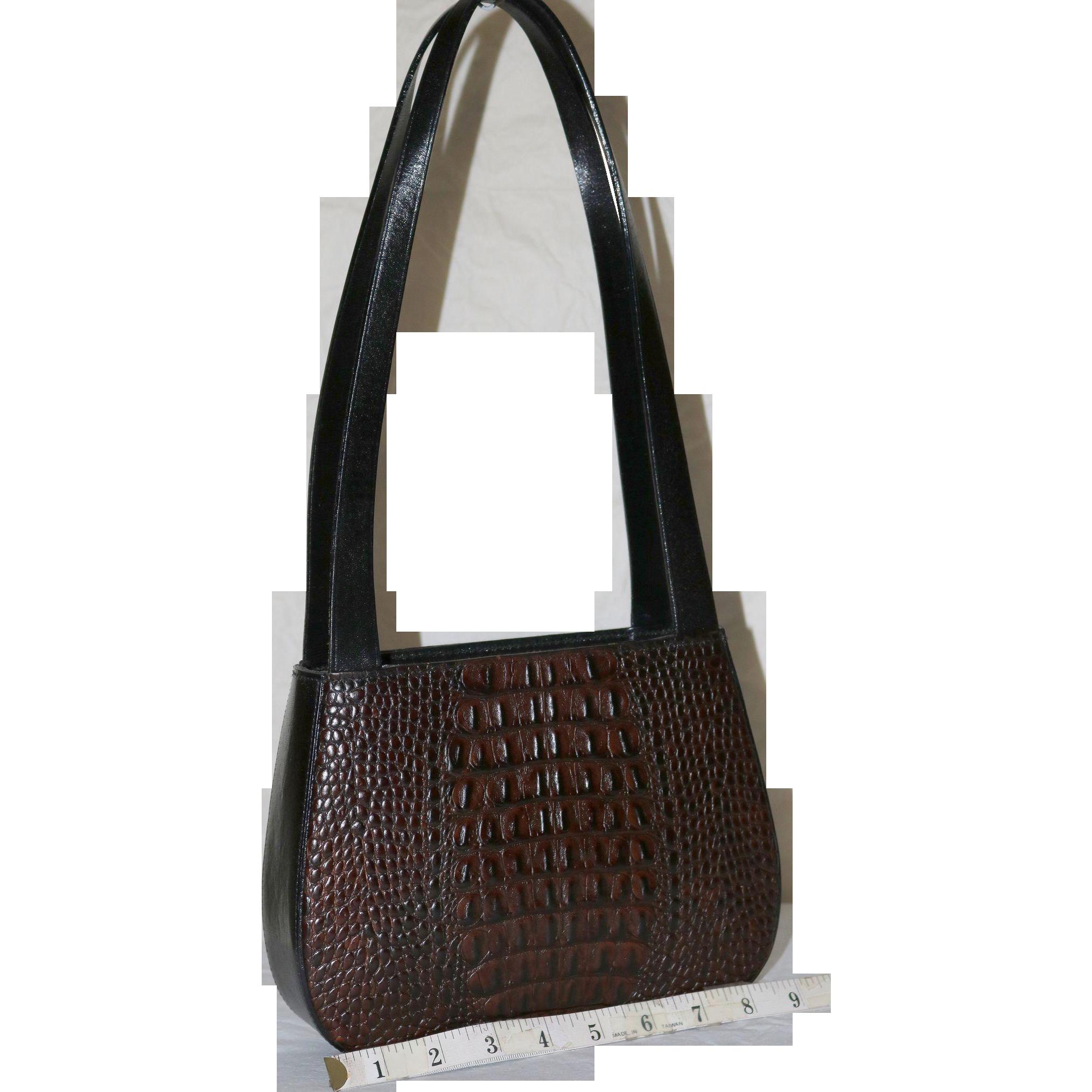 Vintage Brahmin Tuscan Satchel