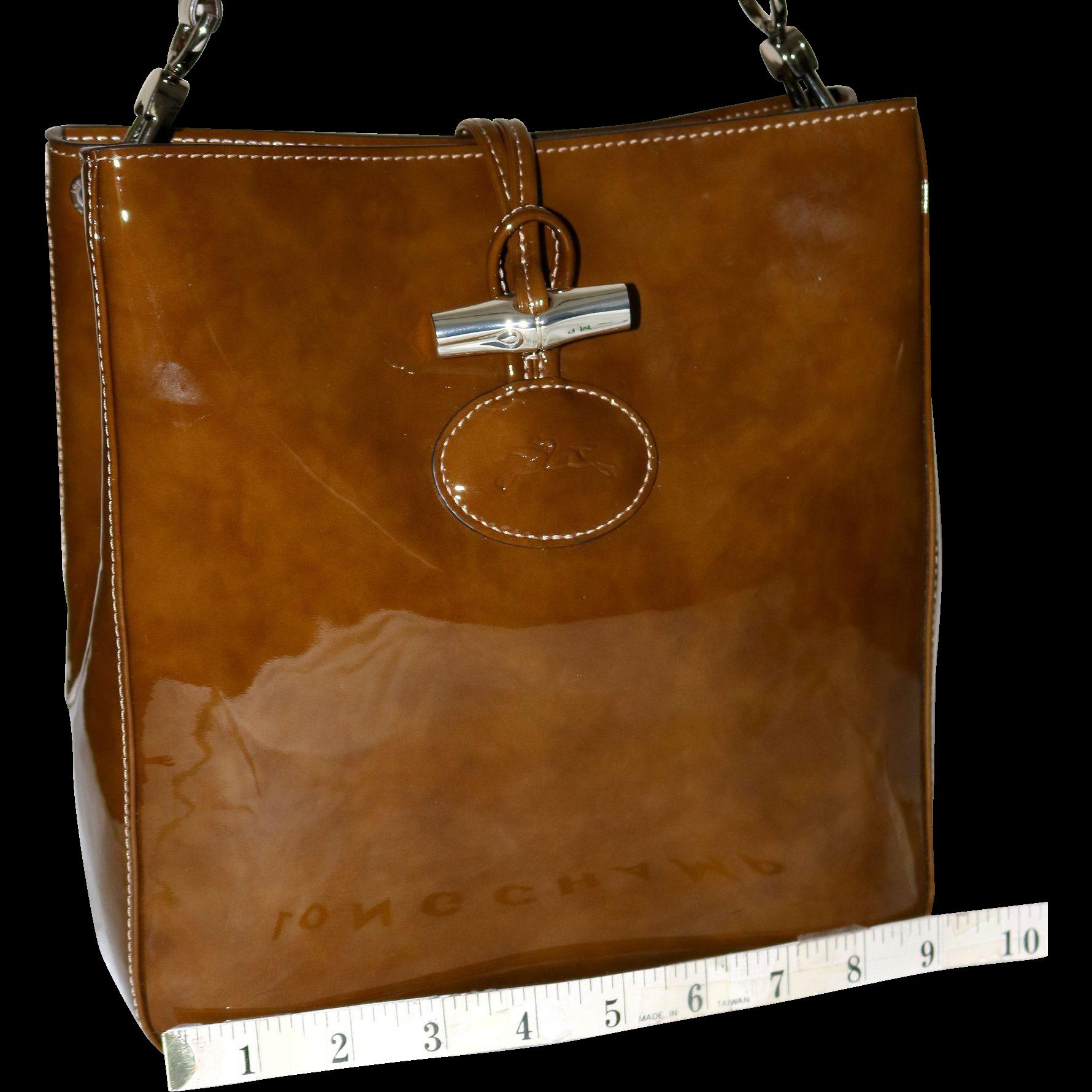 Vintage Longchamp Roseau Box Tote