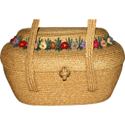 1930's Bag by Josef Wicker Handbag