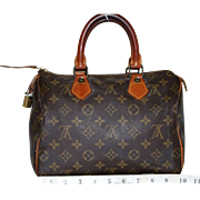 Vintage Louis Vuitton Monogrammed Speedy 25