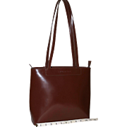 Vintage Lemarthe Slim Tote from Italy