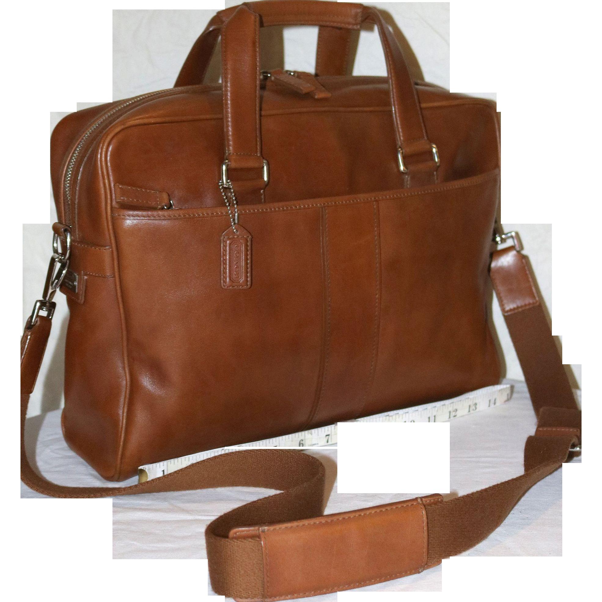 Vintage Coach Hudson Briefcase